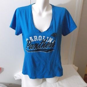 NFL Carolina Panthers Blue Graphic T-shirt XL